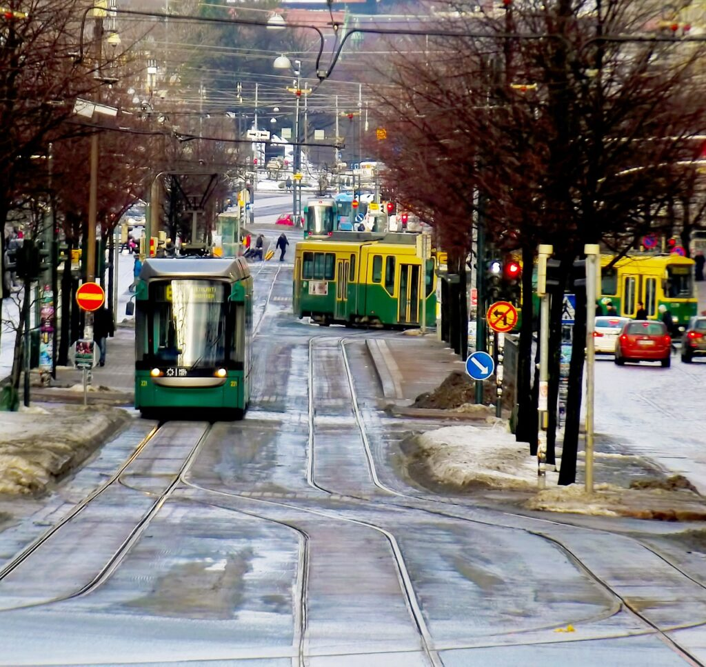 road, street, tram